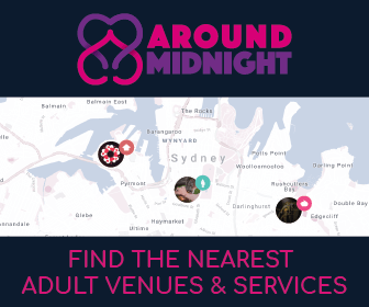 Find the nearest adult venue & services with Around Midnight